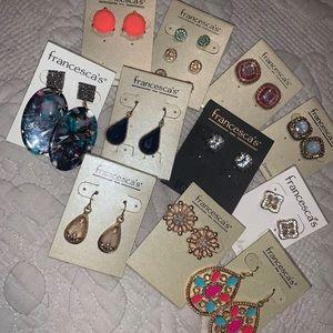Bundle of Francesca's Earrings